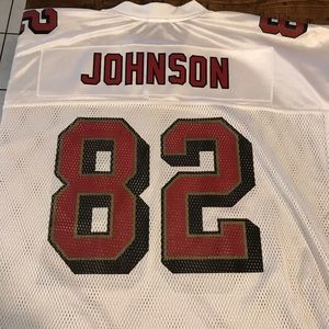 Vintage 2001 Eric Johnson SF 49ers Jersey.